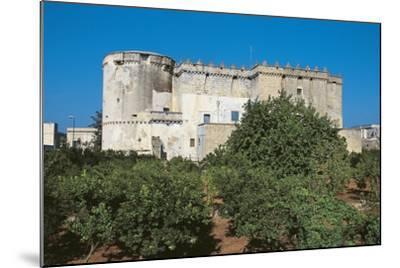 Castle of Morciano Di Leuca, Lecce, Apulia, Italy--Mounted Giclee Print