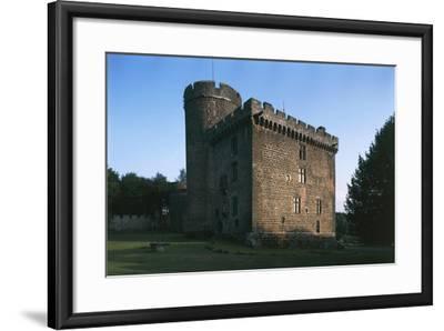 Chateau De Dauphib, Pontgibaud, Auvergne, France, 6th-15th Century--Framed Giclee Print