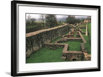 Thermal Baths, Saepinum, Sepino, Molise, Italy--Framed Giclee Print