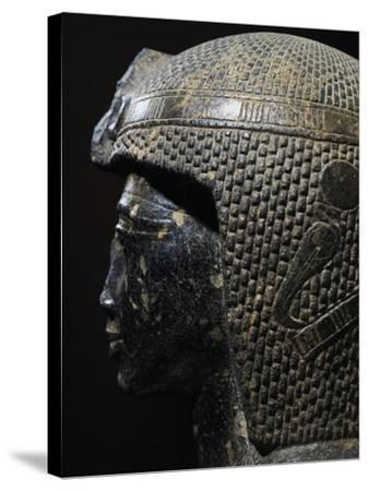 Bust of Ramesses II--Stretched Canvas Print
