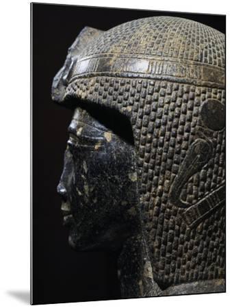 Bust of Ramesses II--Mounted Giclee Print