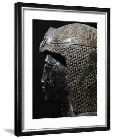 Bust of Ramesses II--Framed Giclee Print