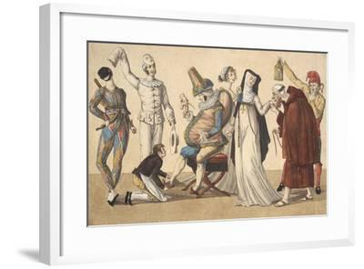 Preparing for Masked Ball, France--Framed Giclee Print