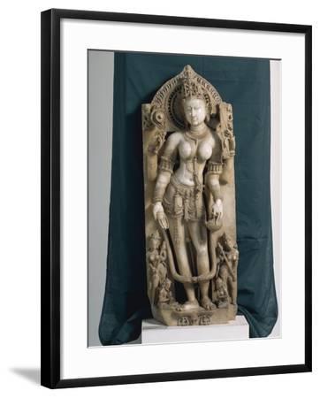India, Rajasthan, Pali, the Goddess Saraswati, Gahadvala Period--Framed Giclee Print