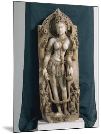 India, Rajasthan, Pali, the Goddess Saraswati, Gahadvala Period--Mounted Giclee Print