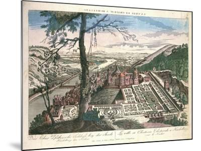 Germany, View of Heidelberg City with Castle--Mounted Giclee Print