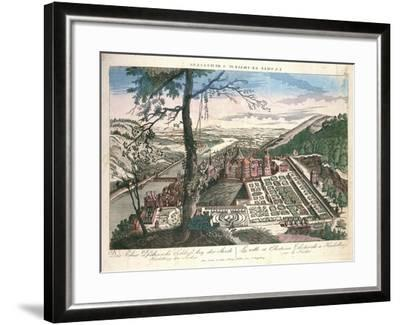 Germany, View of Heidelberg City with Castle--Framed Giclee Print