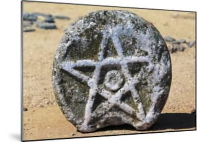 Stone with Star of David, Beja Castle, Alentejo, Portugal--Mounted Giclee Print