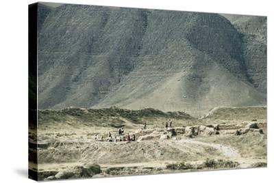 Turkmenistan, Ruins of Nisa, UNESCO World Heritage List, 2007--Stretched Canvas Print