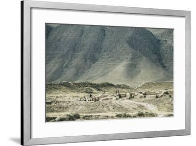 Turkmenistan, Ruins of Nisa, UNESCO World Heritage List, 2007--Framed Giclee Print