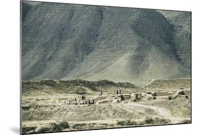 Turkmenistan, Ruins of Nisa, UNESCO World Heritage List, 2007--Mounted Giclee Print
