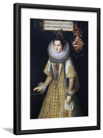 Portrait of Isabella of Austria--Framed Giclee Print
