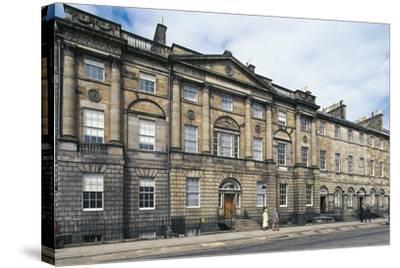 UK, Scotland, Edinburgh, Georgian House--Stretched Canvas Print