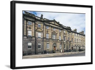 UK, Scotland, Edinburgh, Georgian House--Framed Giclee Print