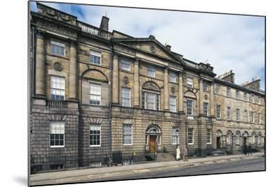 UK, Scotland, Edinburgh, Georgian House--Mounted Giclee Print