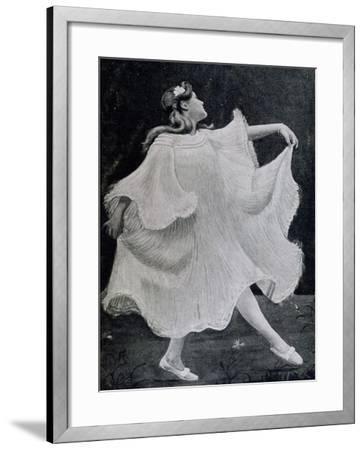 Dancer, 1905--Framed Giclee Print