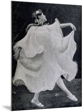 Dancer, 1905--Mounted Giclee Print