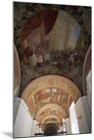 Painted Vaults of Cathedral of Santa Margherita, Brevnov Monastery, Prague, Bohemia--Mounted Giclee Print