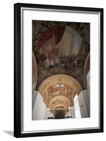 Painted Vaults of Cathedral of Santa Margherita, Brevnov Monastery, Prague, Bohemia--Framed Giclee Print