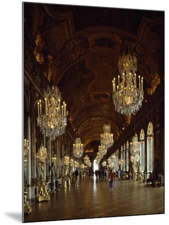 Hall of Mirrors, Palace of Versailles , France--Mounted Giclee Print