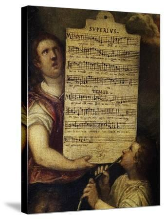 Sheet Music for Magnificat for 4 Voices--Stretched Canvas Print