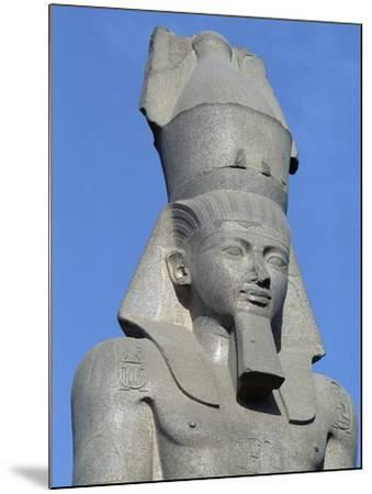 Colossal Statue of Ramses II, Cairo--Mounted Giclee Print
