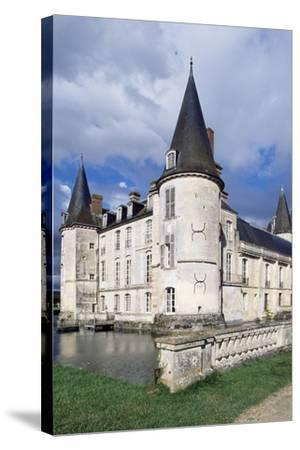 Southwest Corner of Castle of O, Mortree, Lower Normandy, Detail, France, 15th-16th Century--Stretched Canvas Print