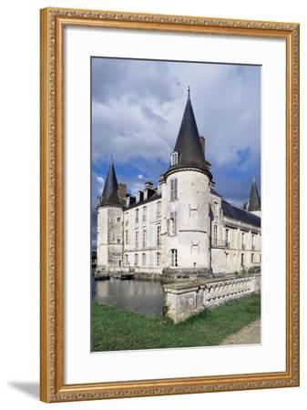 Southwest Corner of Castle of O, Mortree, Lower Normandy, Detail, France, 15th-16th Century--Framed Giclee Print