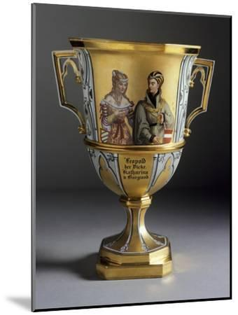 Gothic-Style Dessert Cup Created for Imperial Castle of Laxenburg, 1821-1824--Mounted Giclee Print