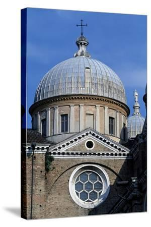 Dome of Left Nave of Basilica of St. Justina, Padua, Veneto, Italy--Stretched Canvas Print