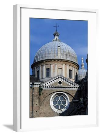 Dome of Left Nave of Basilica of St. Justina, Padua, Veneto, Italy--Framed Giclee Print