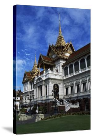 Architectural Detail of Royal Palace in Bangkok, Thailand, 18th-19th Century--Stretched Canvas Print