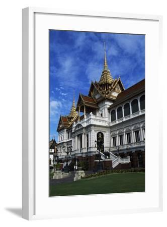 Architectural Detail of Royal Palace in Bangkok, Thailand, 18th-19th Century--Framed Giclee Print