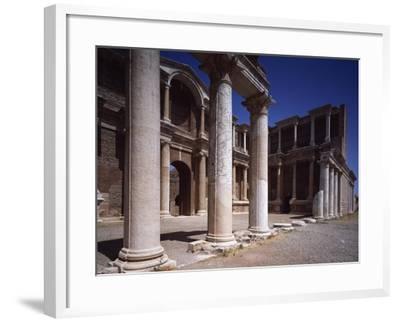 Turkey, Sardis, Two-Story Portico of Gymnasium--Framed Giclee Print