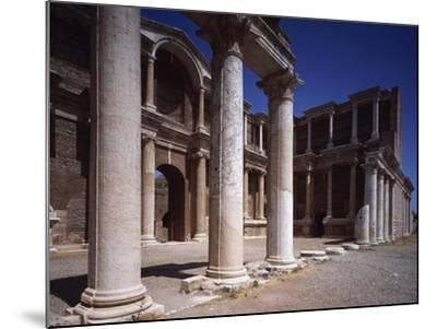 Turkey, Sardis, Two-Story Portico of Gymnasium--Mounted Giclee Print