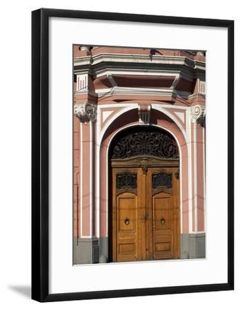 Architectural Detail from Casa Muresenilor, Brasov, Romania--Framed Giclee Print