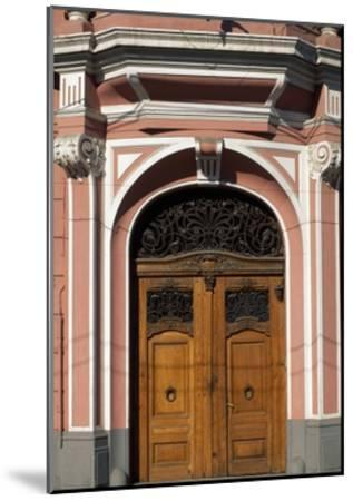 Architectural Detail from Casa Muresenilor, Brasov, Romania--Mounted Giclee Print