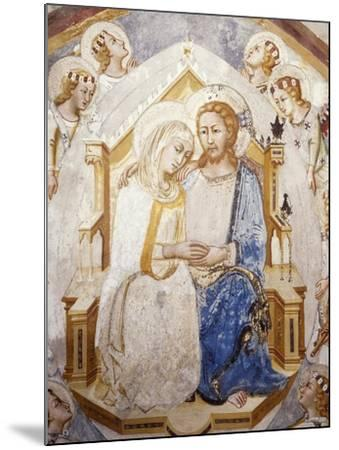 Central Section of Assumption of the Virgin, from Master Trecentesco School--Mounted Giclee Print