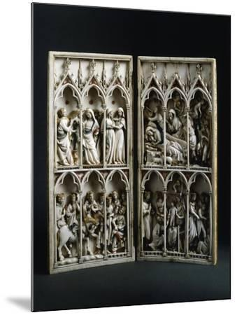 Scenes from Childhood of Christ, Diptych, Ca 1330--Mounted Giclee Print