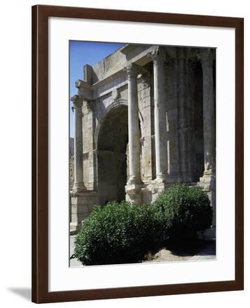 Triumphal Arch known as Arco Di Caracalla at Roman Ruins of Tebessa, Algeria, 3rd Century--Framed Giclee Print
