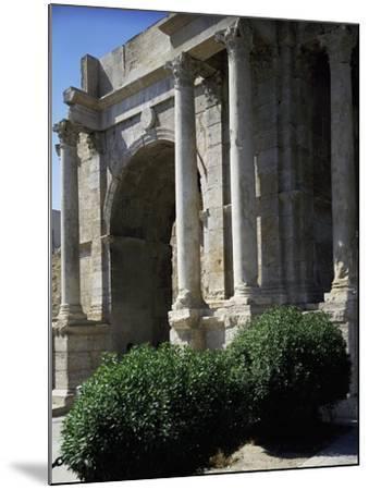 Triumphal Arch known as Arco Di Caracalla at Roman Ruins of Tebessa, Algeria, 3rd Century--Mounted Giclee Print