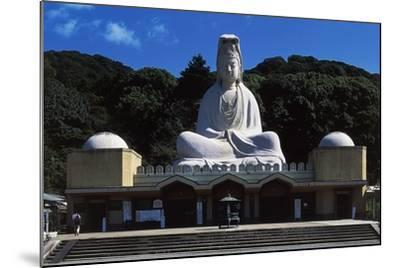 Facade of Ryozen Kannon Buddhist Temple, Kyoto, Kansai, Japan.--Mounted Giclee Print