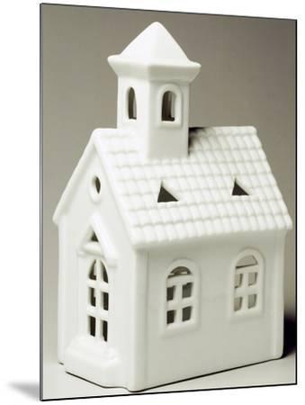 Tyrolean Church, Miniature, Ceramic, La Porcellana Bianca, Italy--Mounted Giclee Print