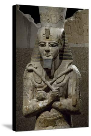 Statue of Ramesses II--Stretched Canvas Print