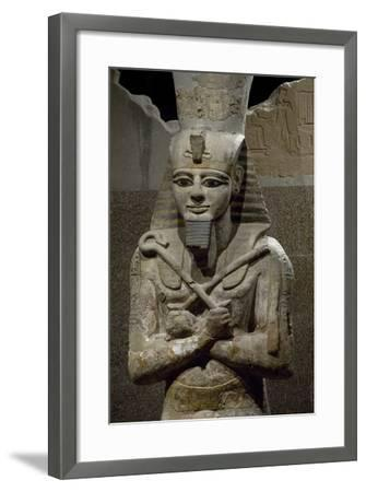 Statue of Ramesses II--Framed Giclee Print