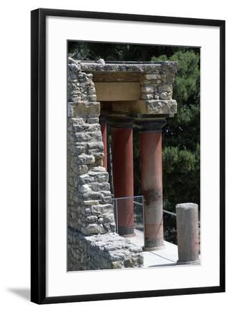 Guard Tower, Palace of Knossos, Crete, Greece, 16th Century BC--Framed Giclee Print