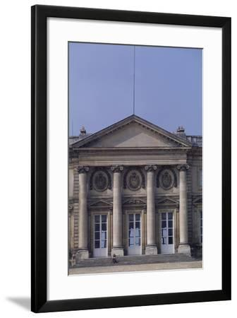 Chateau De Compiegne Rear Facade, Picardy, Detail, France--Framed Giclee Print