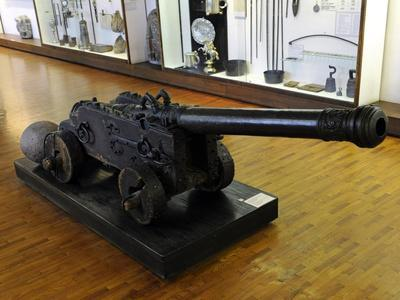 Cannon, 1566, Bronze, Museum of History and Navigation, Riga, Latvia--Framed Giclee Print