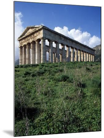Temple of Segesta, Sicily, Italy, 5th Century BC--Mounted Giclee Print
