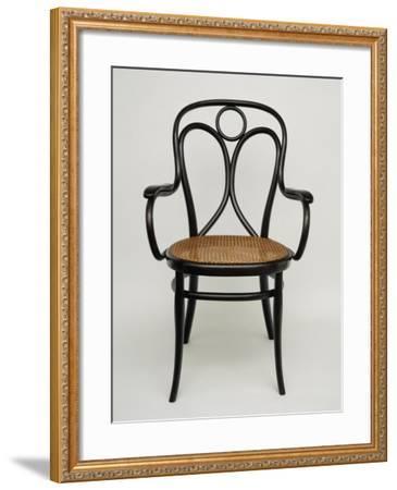 Thonet Chair, Steamed Beech, Austria--Framed Giclee Print